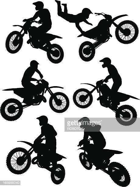 30 Meilleurs Motocross Illustrations Cliparts Dessins