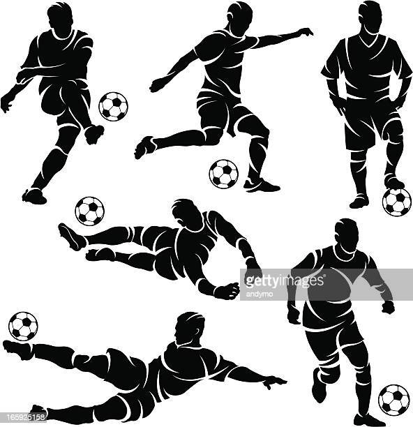 30 Meilleurs Joueur De Football Illustrations Cliparts