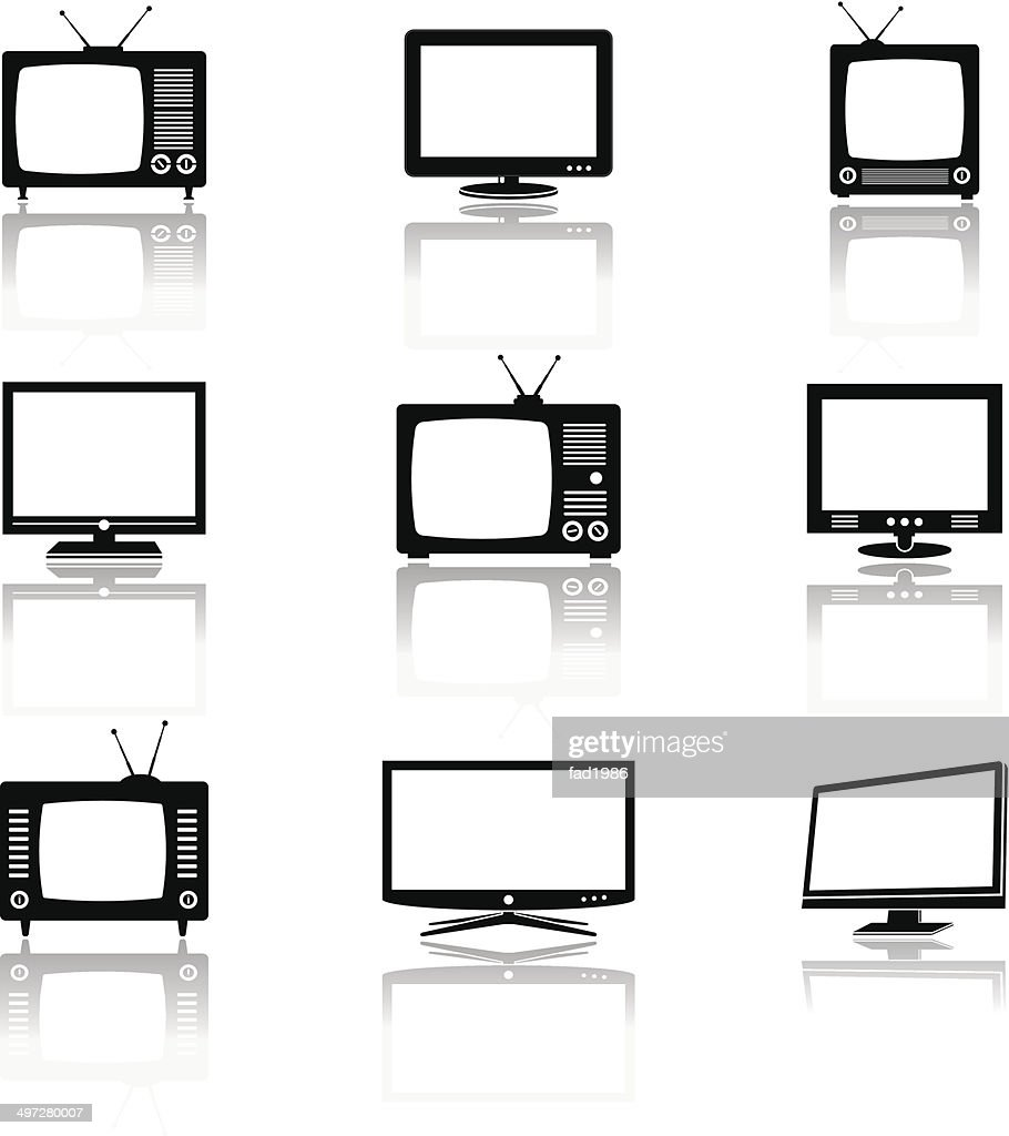 TV silhouettes