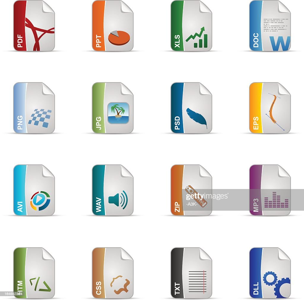 Silky Icons Set | Filetypes