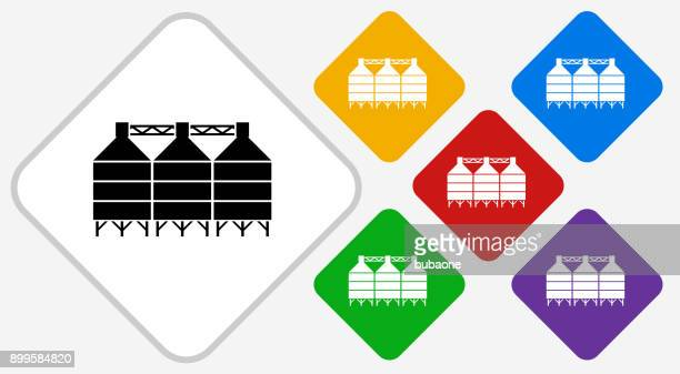 Silo Color Diamond Vector Icon