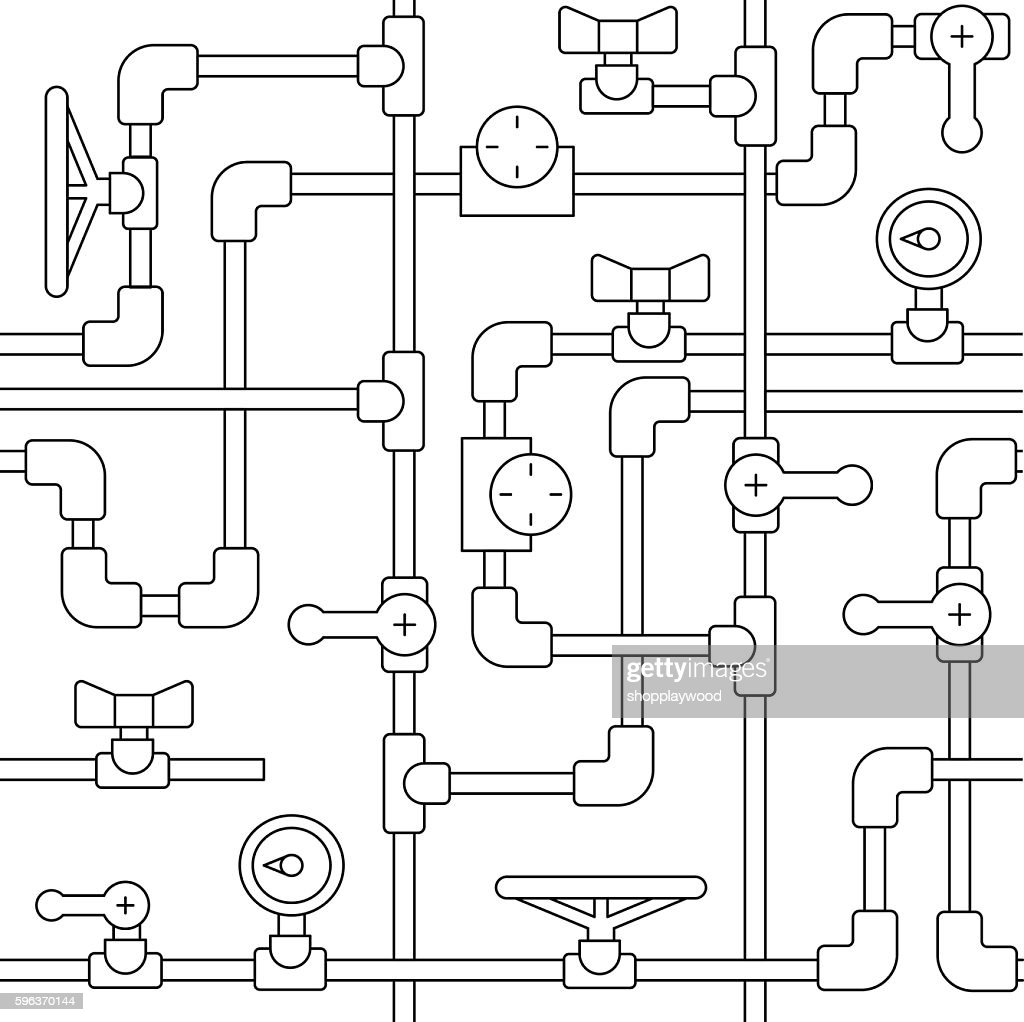 Simles pattern pipe