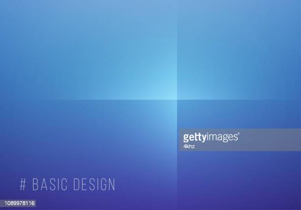 Simple Abstract Blue And Purple Background
