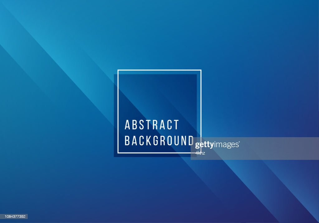 Simple Abstract Blue Background : stock illustration