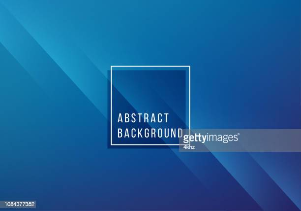 simple abstract blue background - crumpled stock illustrations