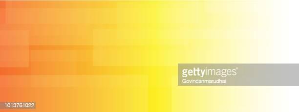 単純な抽象的なオレンジ色と黄色の色の背景