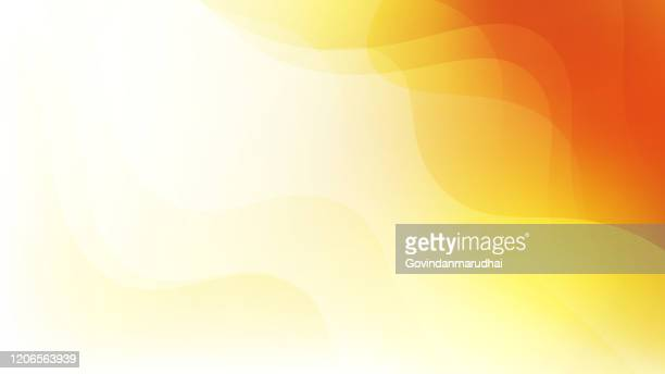 simple abstract orange and yellow color background - orange background stock illustrations
