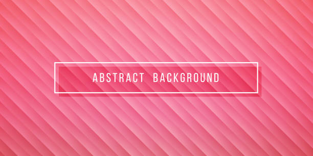 simple abstract pink background - femininity stock illustrations