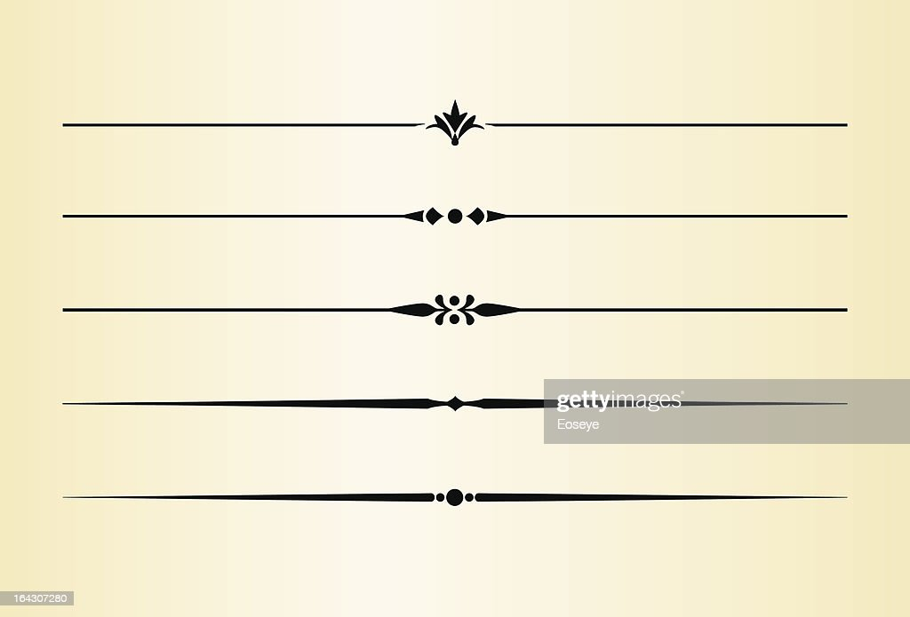 Simple and elegant dividing lines