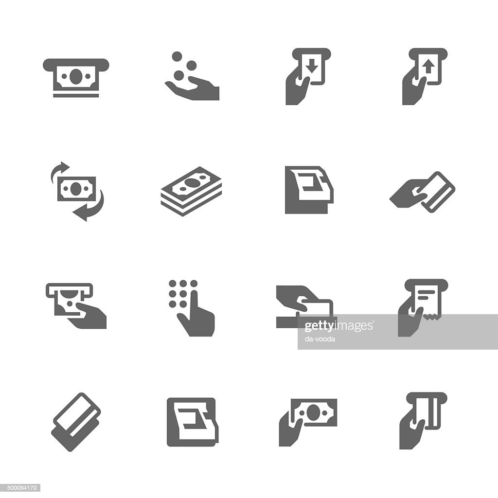 Simple ATM Icons