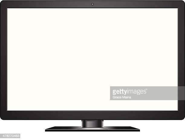 Simple Black Screen - VECTOR