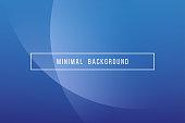 Simple Blue Minimal Modern Elegant Abstract Vector Background