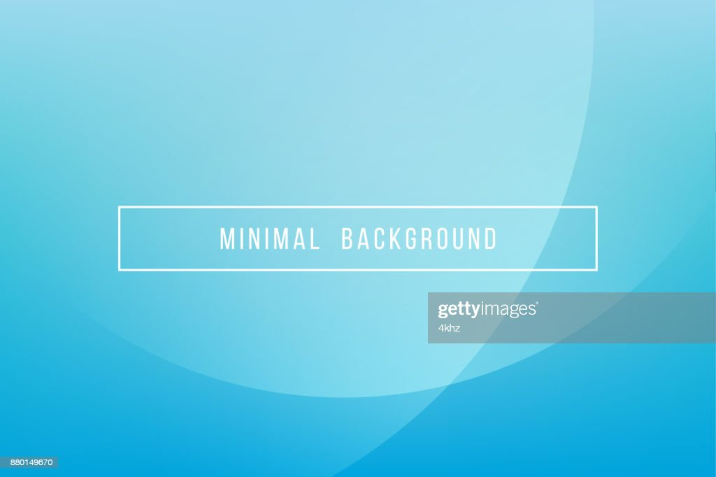 Simple Blue Minimal Modern Elegant Abstract Vector Background