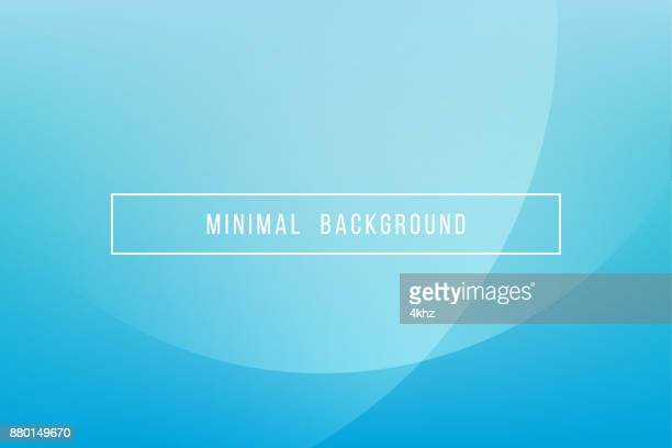 simple blue minimal modern elegant abstract vector background - curve stock illustrations