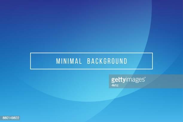Eenvoudige blauwe minimale moderne elegante Abstract Vector achtergrond