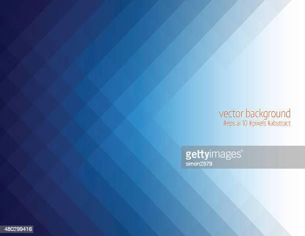 Simple blue pixels background