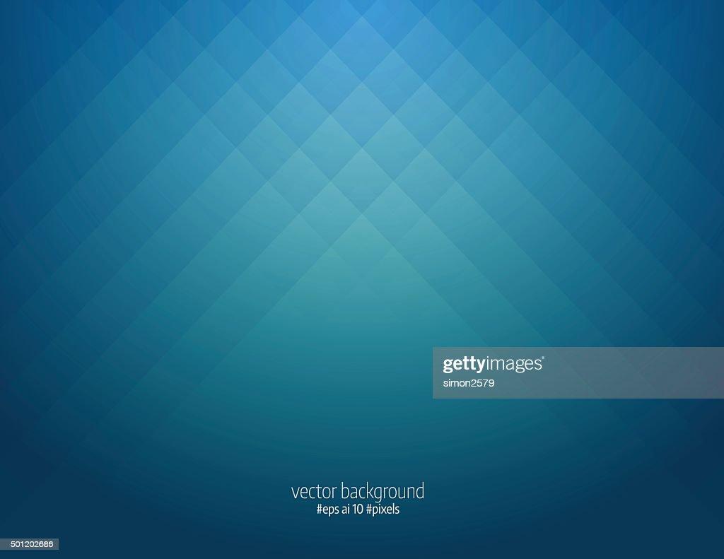Simple blue pixels background : stock illustration