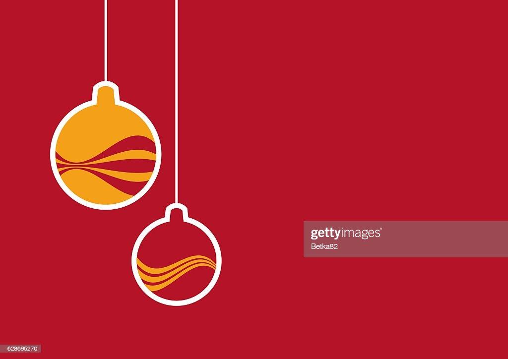 simple christmas background vector art