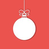 Simple Christmas bauble