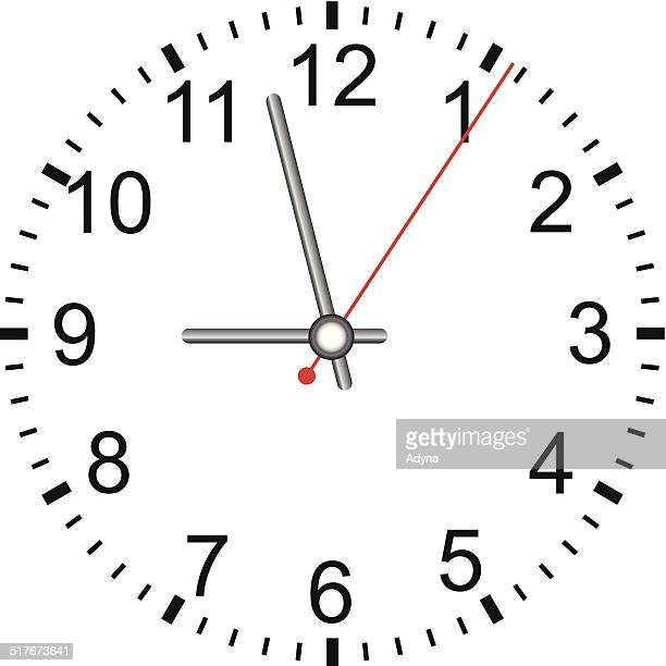 Worlds Best Modern Clock Stock Vector Art And Graphics