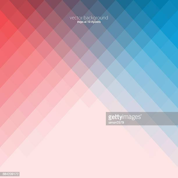 simple colorful pixels background - pink background stock illustrations, clip art, cartoons, & icons