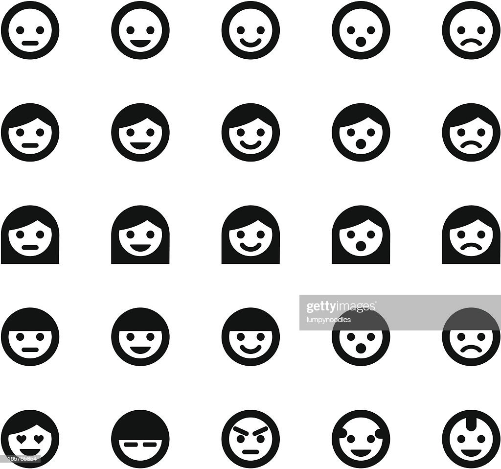 Simple Face Symbols