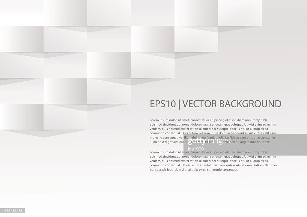 Simple geometric paper background