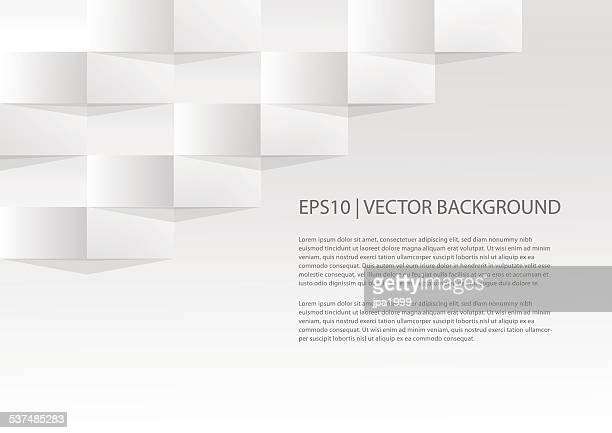 Einfache geometrische Papier Hintergrund