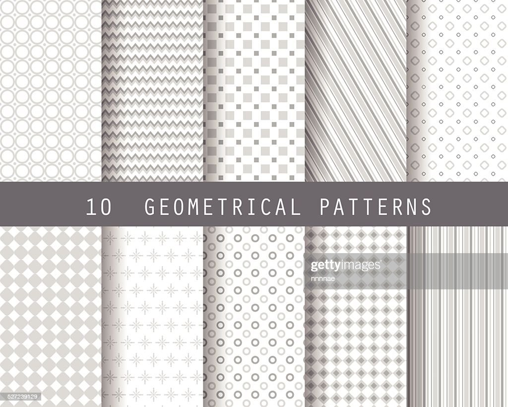 10 simple geometric patterns 1