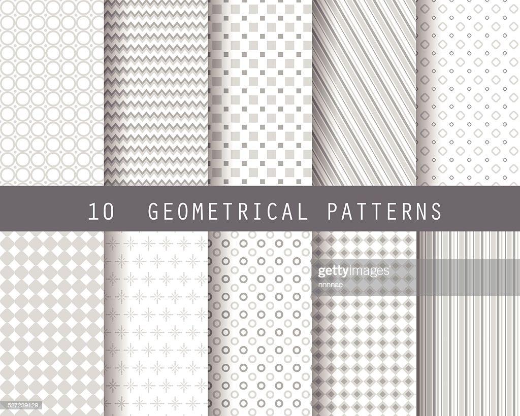 10 simple geometric patterns 1