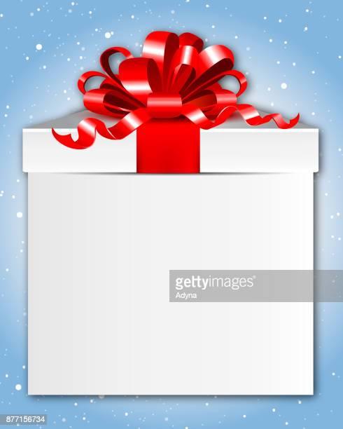 ilustraciones, imágenes clip art, dibujos animados e iconos de stock de simple caja de regalo - cajaderegalo