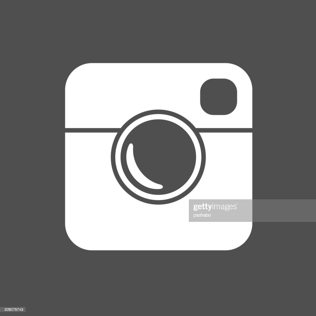 Simple Hipster Photo Icon