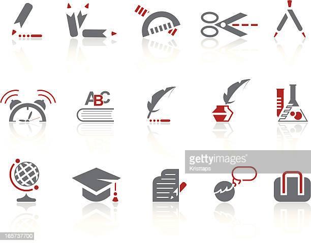 Icônes simples-éducation