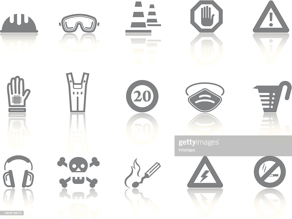 Simple icons – Safety