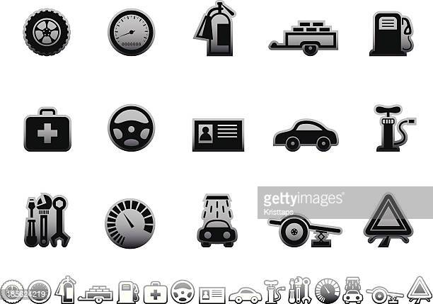 Simple icons – Vehicle equipment