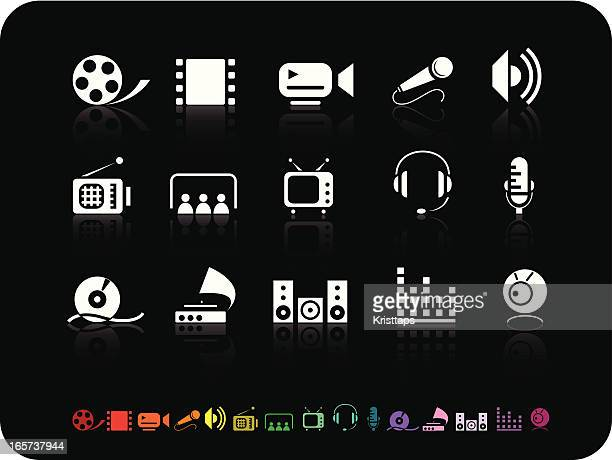 Simple icons- Video & Audio
