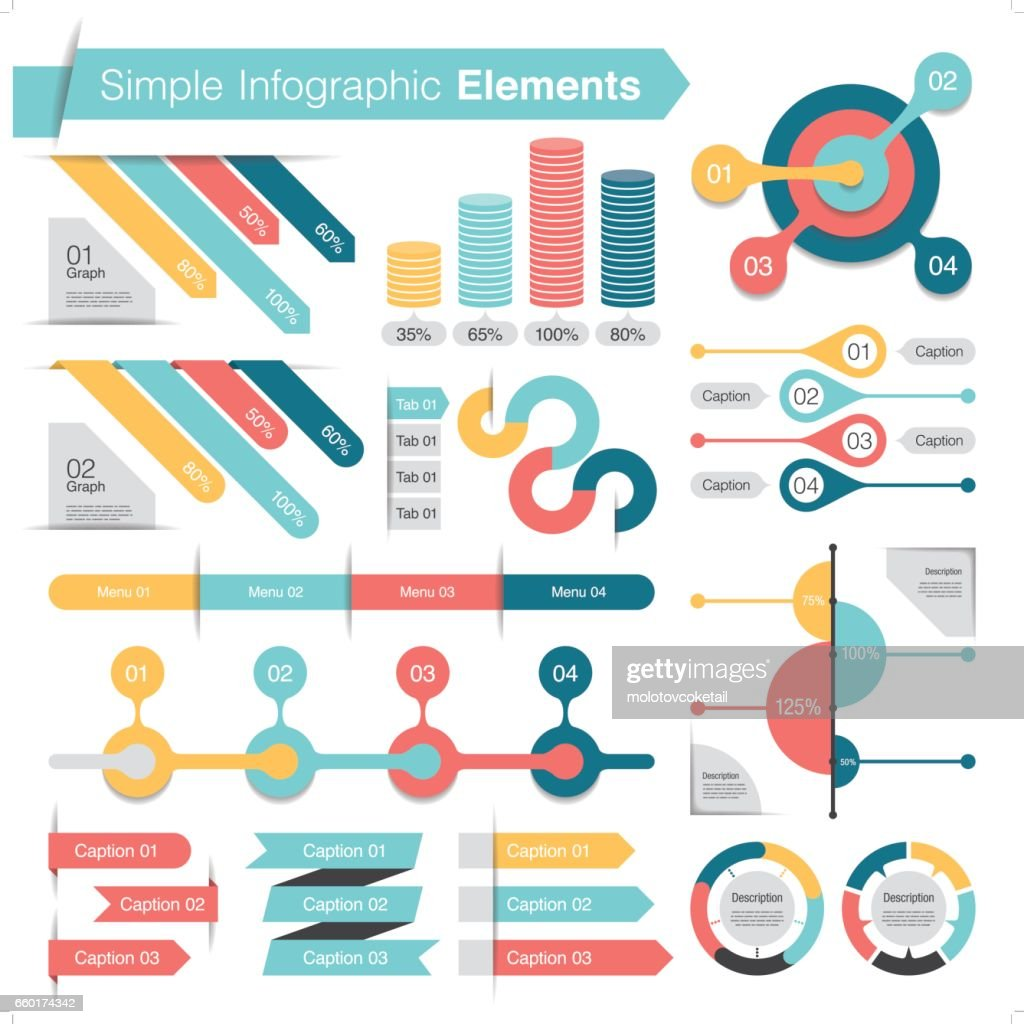 simple infographic design element set