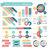 simple infographic design element set