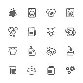 Simple Laundry Icons