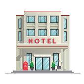 simple modern hotel building