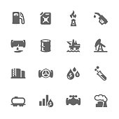 Simple Oil Icons