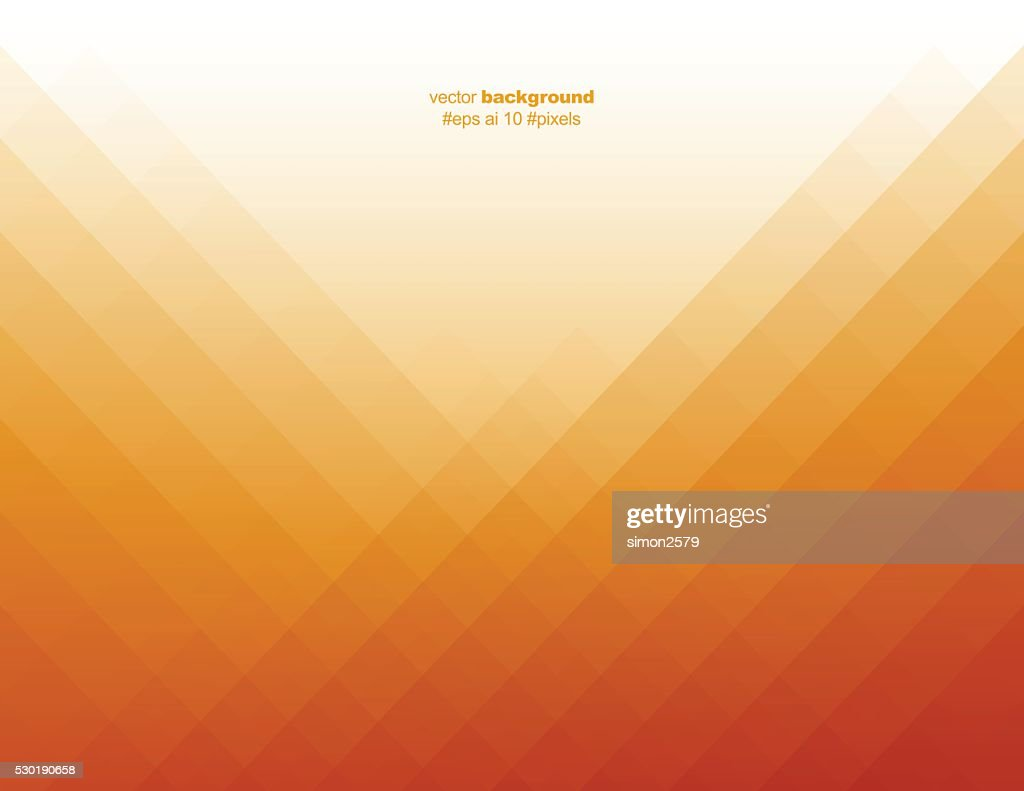 Simple orange color pixels background