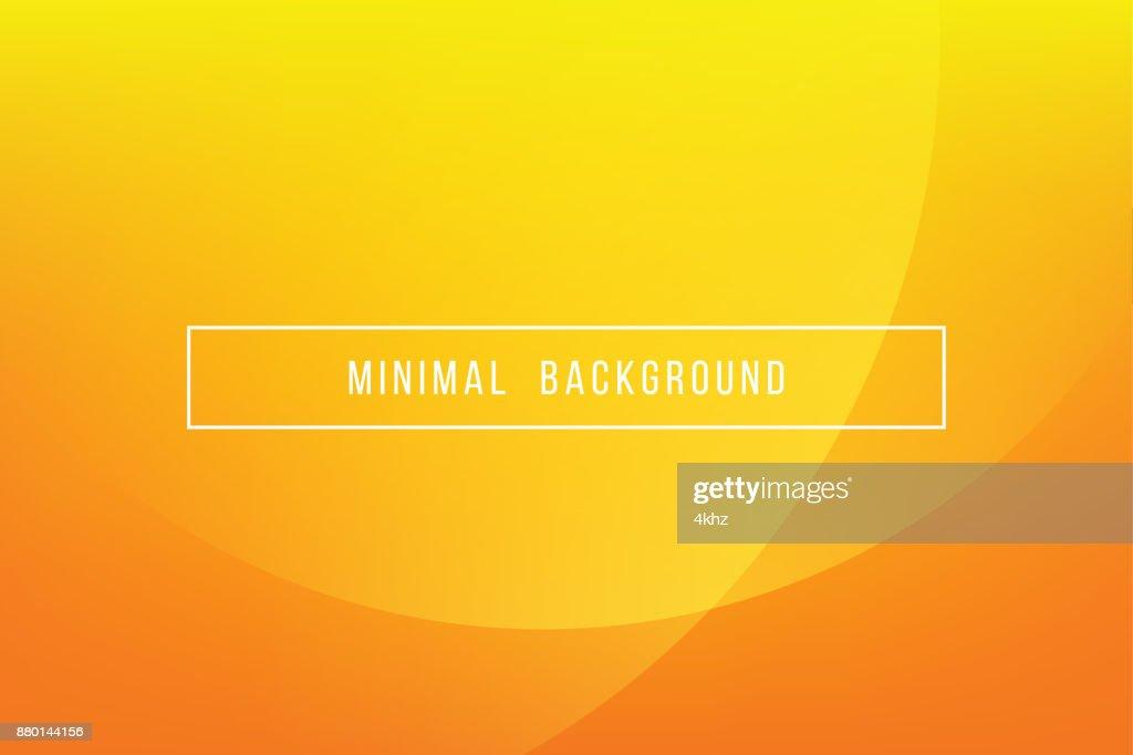 Simple Orange Minimal Modern Elegant Abstract Vector Background : stock illustration
