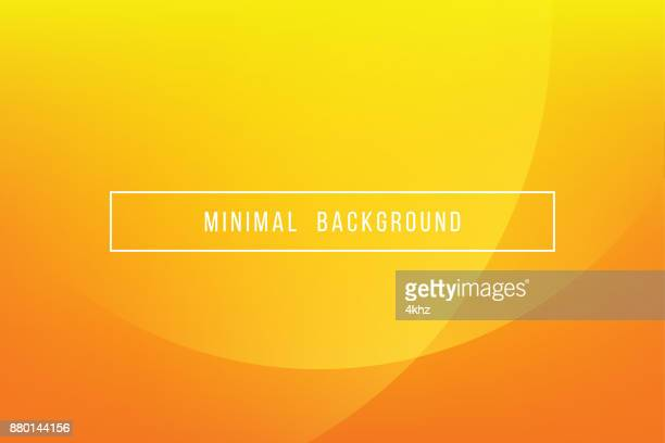 simple orange minimal modern elegant abstract vector background - yellow stock illustrations