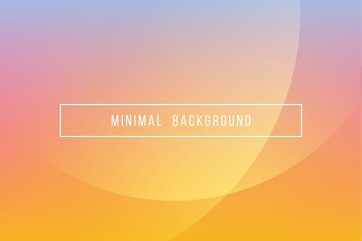 Simple Orange Minimal Modern Elegant Abstract Vector Background - gettyimageskorea