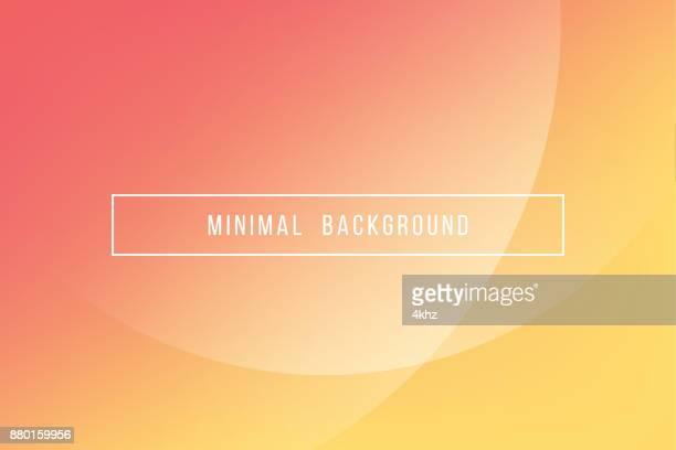 シンプルなオレンジ最小限モダンなエレガントな抽象的なベクトルの背景