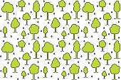 simple pattern (background) with trees