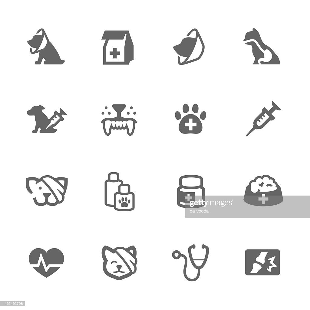 Simple Pet Vet icons
