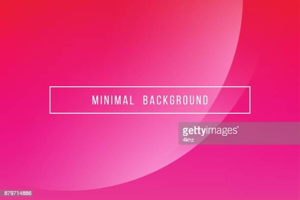 Simple Pink Minimal Modern Elegant Abstract Vector Background