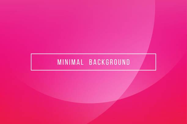 simple pink minimal modern elegant abstract vector background - femininity stock illustrations